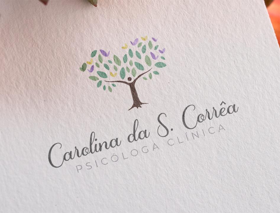 Logotipo e Cartão de Visita para Psicóloga - Arte Personalizada