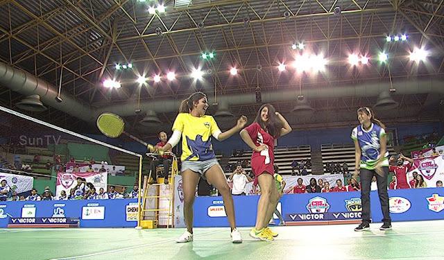 cbl amala paul hot pics in badminton dress