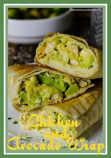 Chicken & Avocado Wrap.