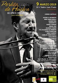"""Homenaje. Cartel con Félix Crujera """"El Sevillano"""""""