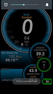 Buat mengetahui top speed pakai gps