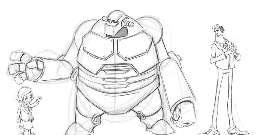ArtBlog of Luis F. Sanchez: Character Design/Facial