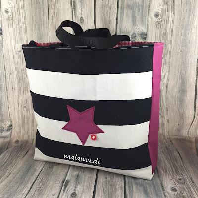 Einkaufsbeutel Tote Bag nach einem Freebook