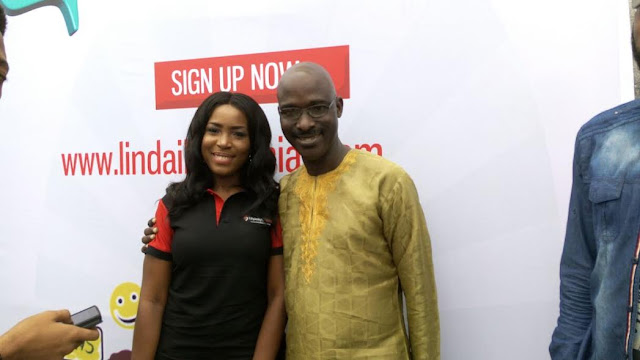 See Linda Ikeji At Her LIS Linda Ikeji Social Website Launch Today (photos)