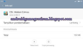 Game lawas yang saya share karena saya rasa punya gameplay yang menarik Game:  CSI: Hidden Crimes apk