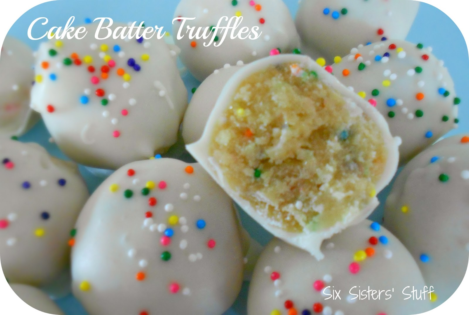 Cake Ball Recipes With Yellow Cake Mix