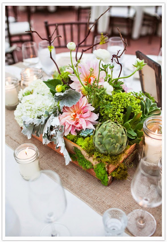 Succulent Wedding Flowers - 15 Reasons Why a Bride Should Use Succulents With Her Wedding Flowers