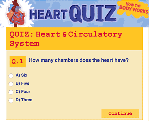 How much do you know about the heart? Multiple choice quiz