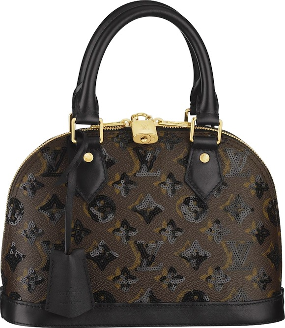 Changes Flirtatious Glamorous Eclipse Fall 2009 Collection Of Handbags Monogram Alma Bb Is Incredibly Feminine The Bag Skillfully Embroidered In A