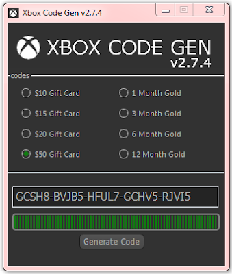 Xbox Code Generator 2015 No Survey No Password Free Download [LATEST