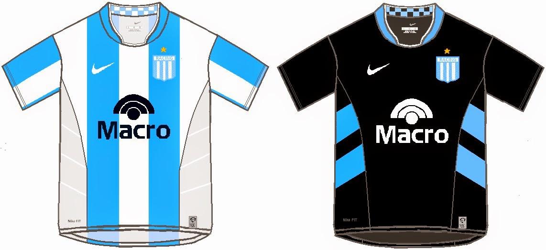 4b1773d04b NERC: Camiseta Nike Racing Club de Avellaneda 2008/2009