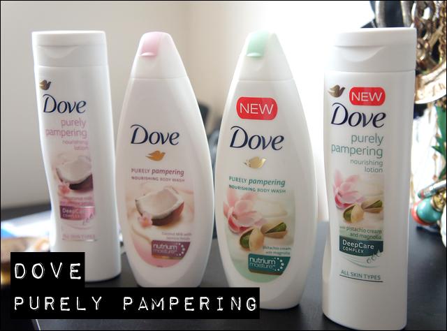 Yolanda G Dove Purely Pampering Nourishing Body Wash Body Lotion Pistachio Cream With Magnolia Coconut Milk Jasmine Petals