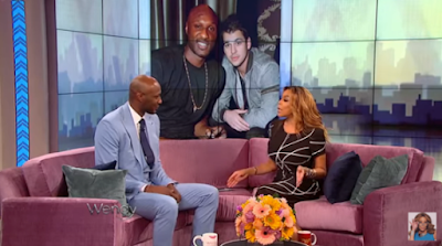 Video; Lamar Odom on the Wendy Williams show