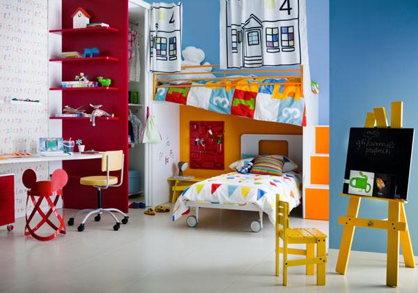 Decoraci n de dormitorios para ni o dormitorios colores - Decoracion pared ninos ...