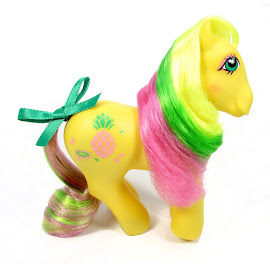 MLP Tootie Tails Year Eight Tropical Ponies G1 Pony