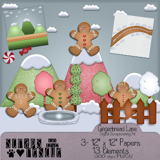 Gingerbread Lane Digital Mini Kit