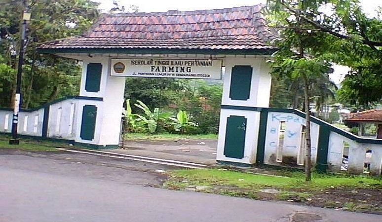 PENERIMAAN MAHASISWA BARU (STIP FARMING) SEKOLAH TINGGI ILMU PERTANIAN FARMING