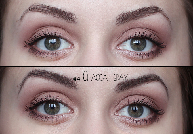 Etude house - Drawing Eye brow обзор отзыв #4 Chacoal Gray Dark Gray