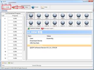 Cara Flashing file cpb Menggunakan QGDP Tool