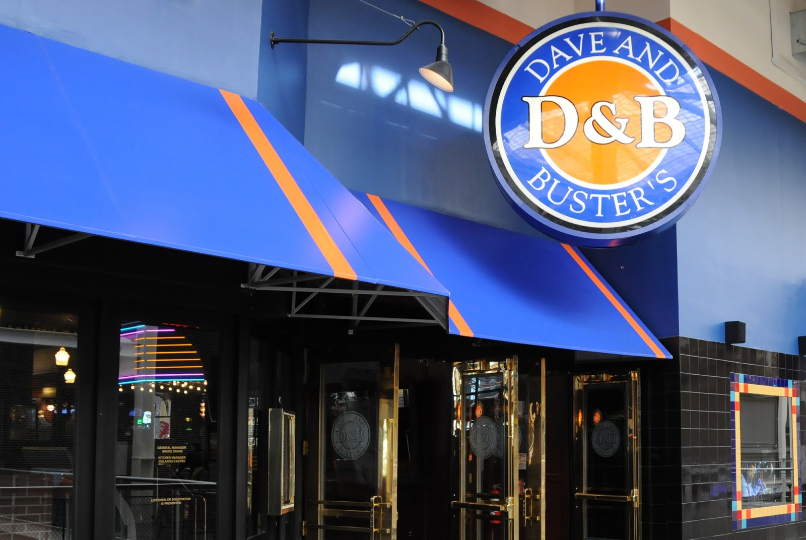 Dave and Buster's is a chain of entertainment restaurants offering its customers dining and entertainment under one roof. The menu includes fast food, cocktail drinks and indoor games such as billiards and shuffleboards.