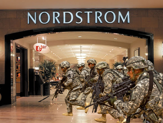 Trump Threatens to Call in Feds After Nordstrom Attacks Ivanka