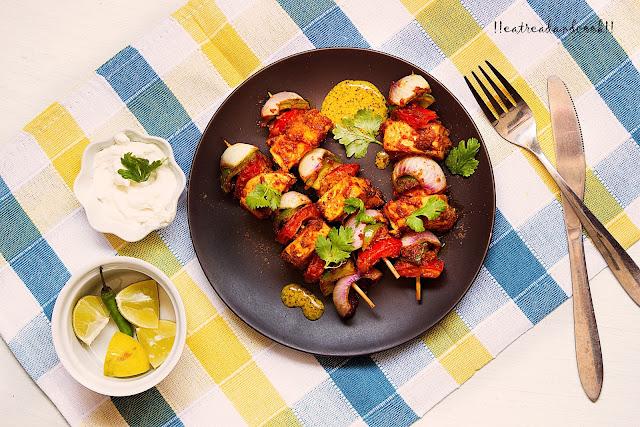simple and easy indian vegetarian tikka recipe and preparation tandoori paneer tikka recipe and preparation