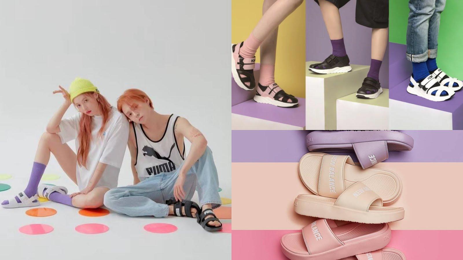 運動涼鞋 襪子