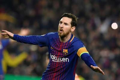 Messi hits 100 Champions League goals