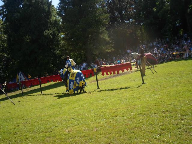 Mittelalterliches Show Tunier in Angelbachtal im August 2016