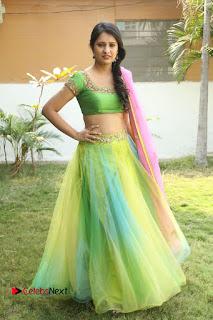 Actress Nikitha Bisht Stills in Lehenga Choli at Pochampally Ikat Art Mela Launch  0424.JPG