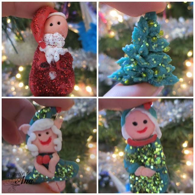 Imanes navideños - el cumpleblog de Ysne