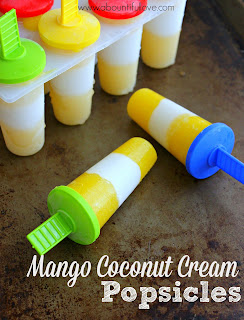 mango coconut cream popsicles