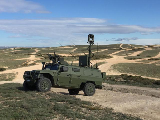 Vehículo de Exploración y Reconocimiento Terrestre (VERT), primeras entregas en diciembre 2017