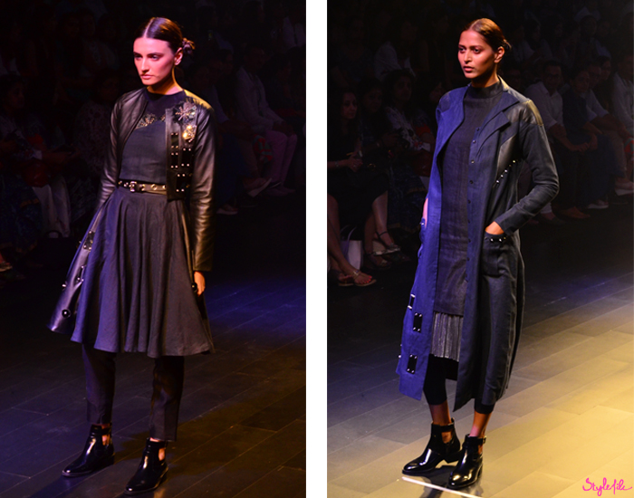 Indian models walking for GenNext designers at Lakme Fashion Week Winter Festive 2016 at St. Regis