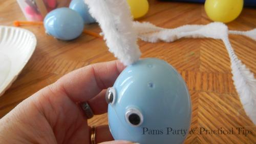 plastic egg bunny, Easter egg bunny