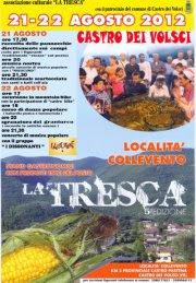 La Tresca 2012, continua la tradizione a Castro dei Volsci