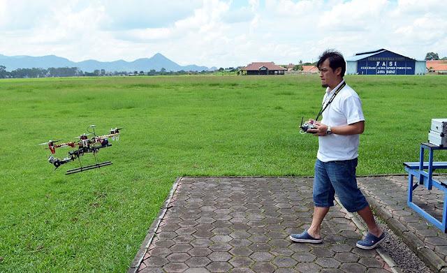 Drone Multirotor saya yang pertama untuk aerial photography
