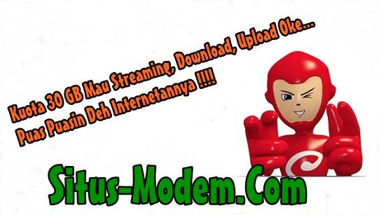 Baru !!! Paket Super Besar : Paket Internet Smartfren Kuota 30 GB + Ekstra 5 GB, Hajar Deh Buat Internetan Sepuasnya !!!