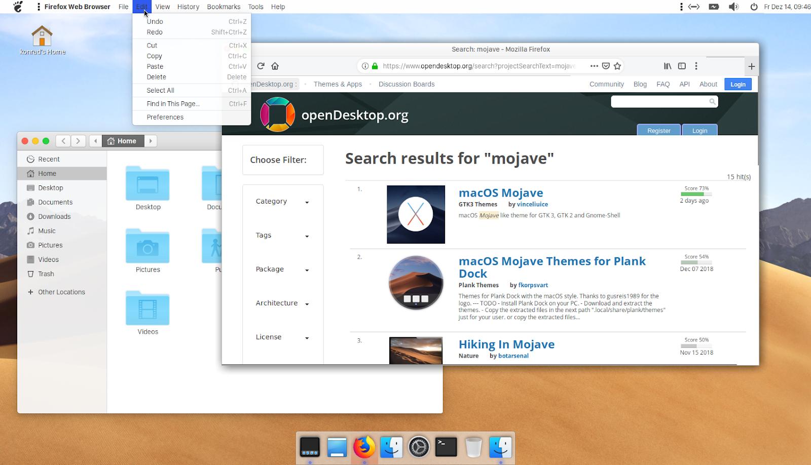 Making Ubuntu MATE look like macOS
