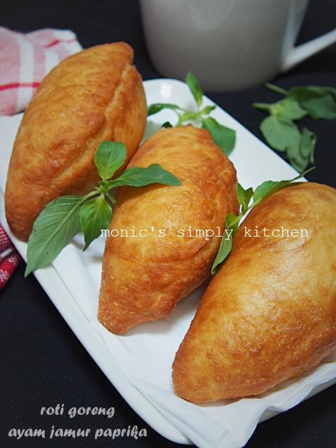 resep roti goreng ayam jamur paprika