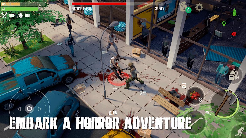 Prey Day Survival - Craft & Zombie APK MOD Zumbis Não Atacam 2021 v 14.1.22