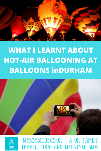 balloons in durham 2018 with balloonist ian sharpe