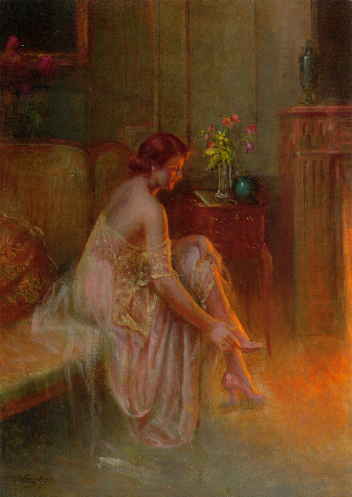 Delphin Enjolras 1857-1945 | French academic painter