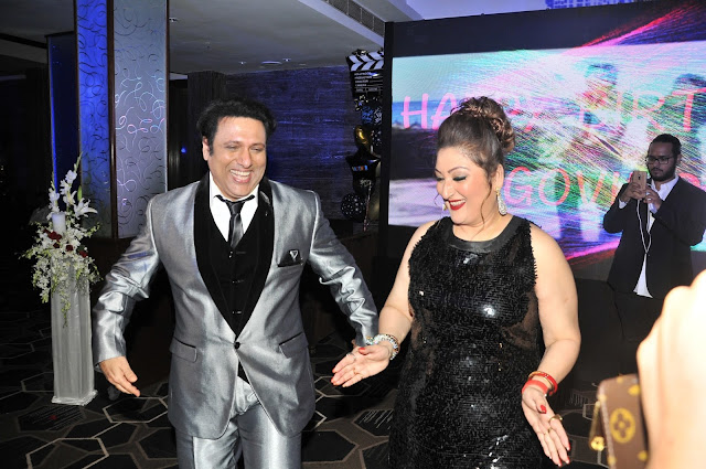 24. Govinda with Sunita Ahuja
