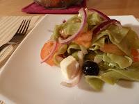 Salata de paste cu spanac