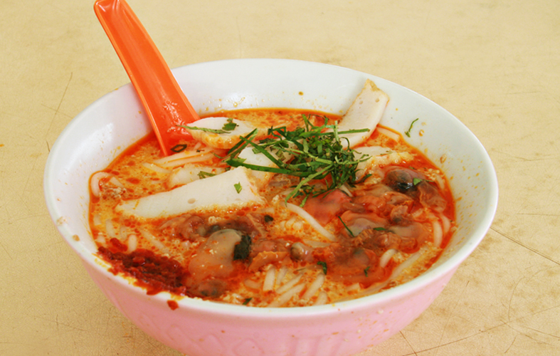 Singapore: Sungei Road Laksa 结霜桥叻沙