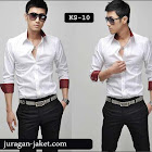 jas exclusive Kemeja putih SK10