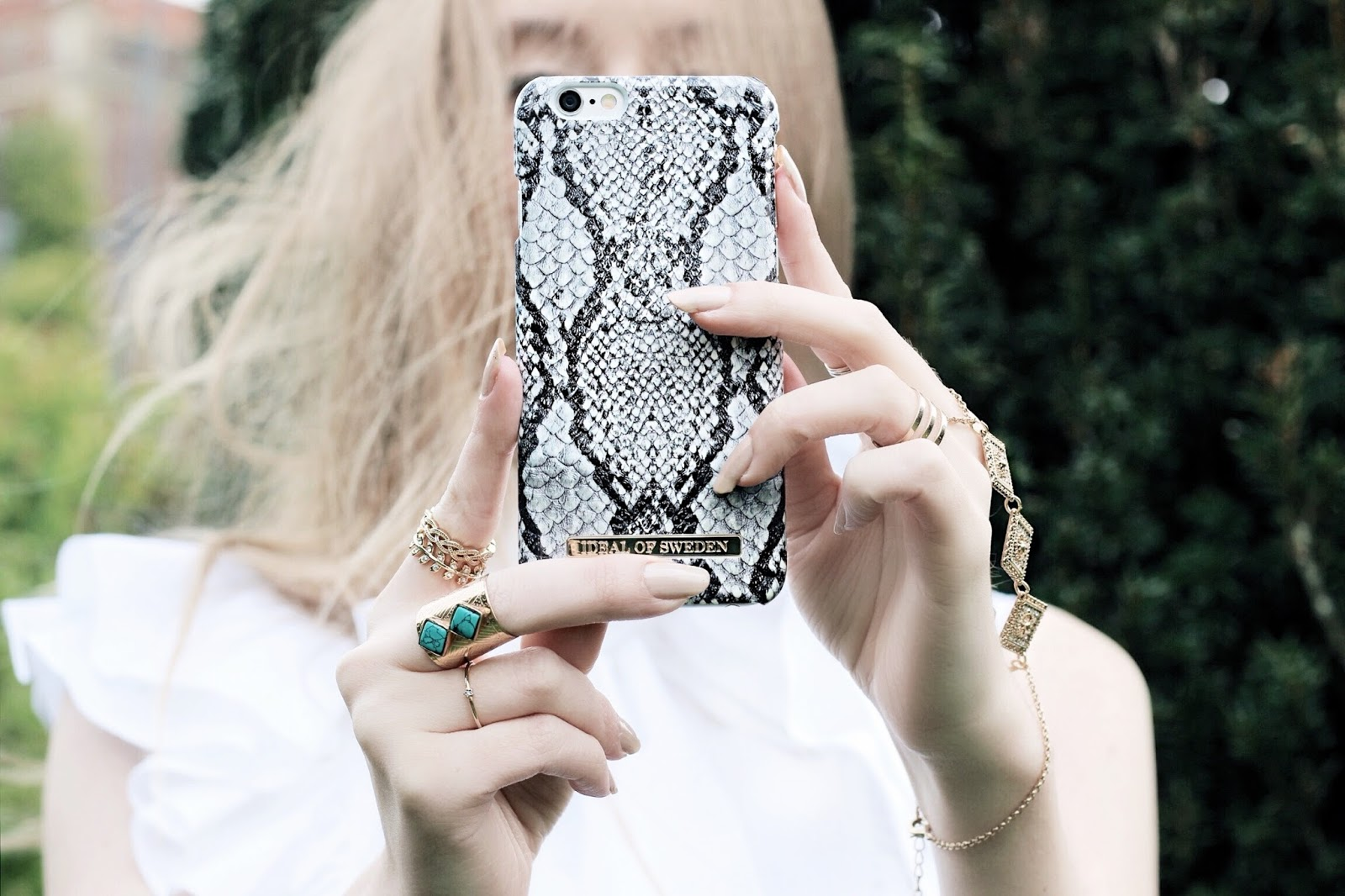 Ideal of Sweden Blog Collaboration Snakeskin Case