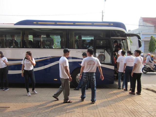Bắt đầu hành trình đi thăm quan các địa điểm du lịch tại TP.Buôn Ma Thuột