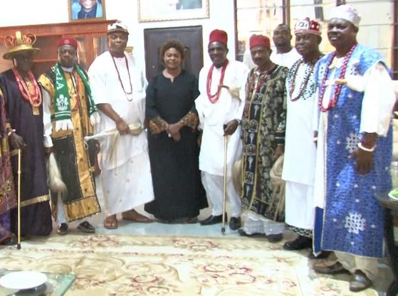 anambra royal fathers visit stella oduah